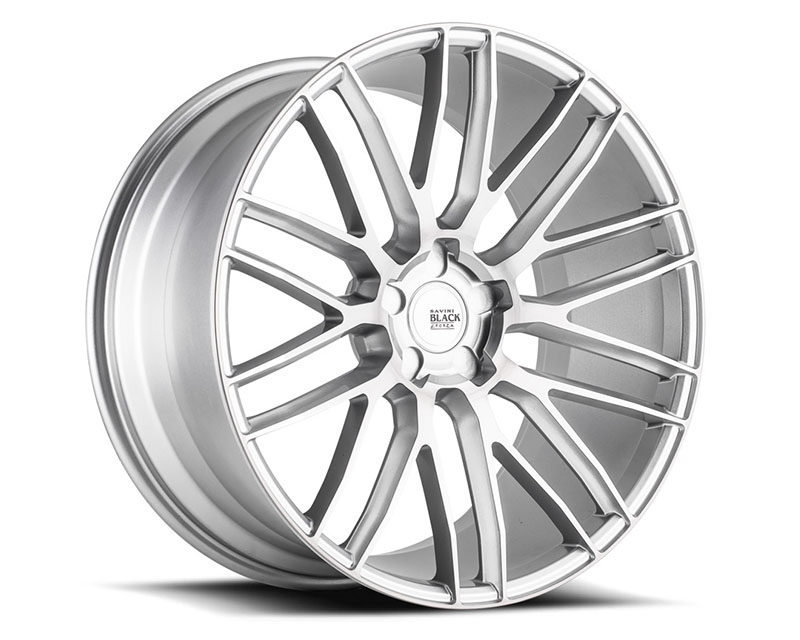 Savini BM13-19085545R3579 di Forza Brushed Silver BM13 Wheel 19x8.5 5x114.3 35mm