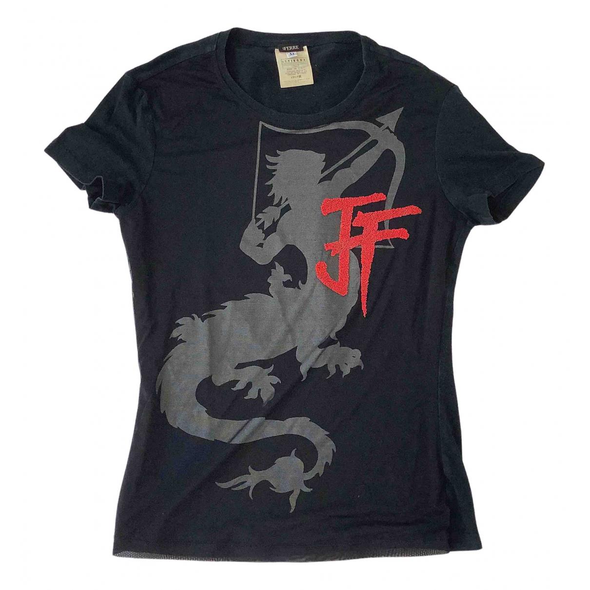 Gianfranco Ferré \N Black Cotton  top for Women M International