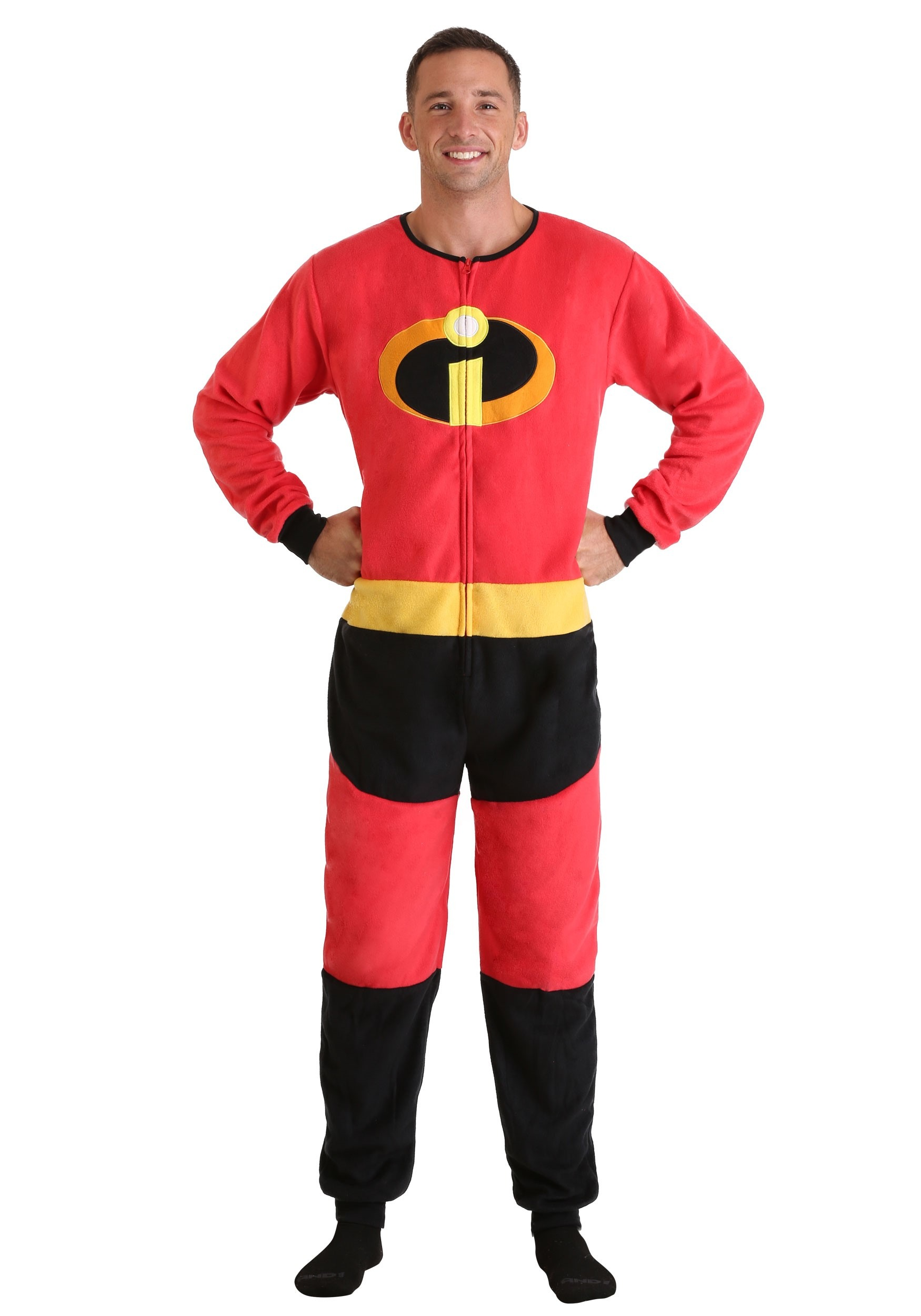 The Incredibles Mr. Incredible Union Suit for Adults