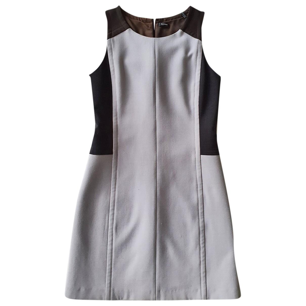 Jil Sander \N Grey Wool dress for Women 36 IT