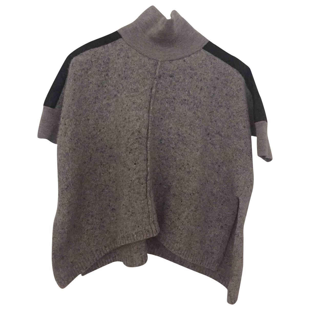 Karen Millen \N Pullover in  Grau Wolle