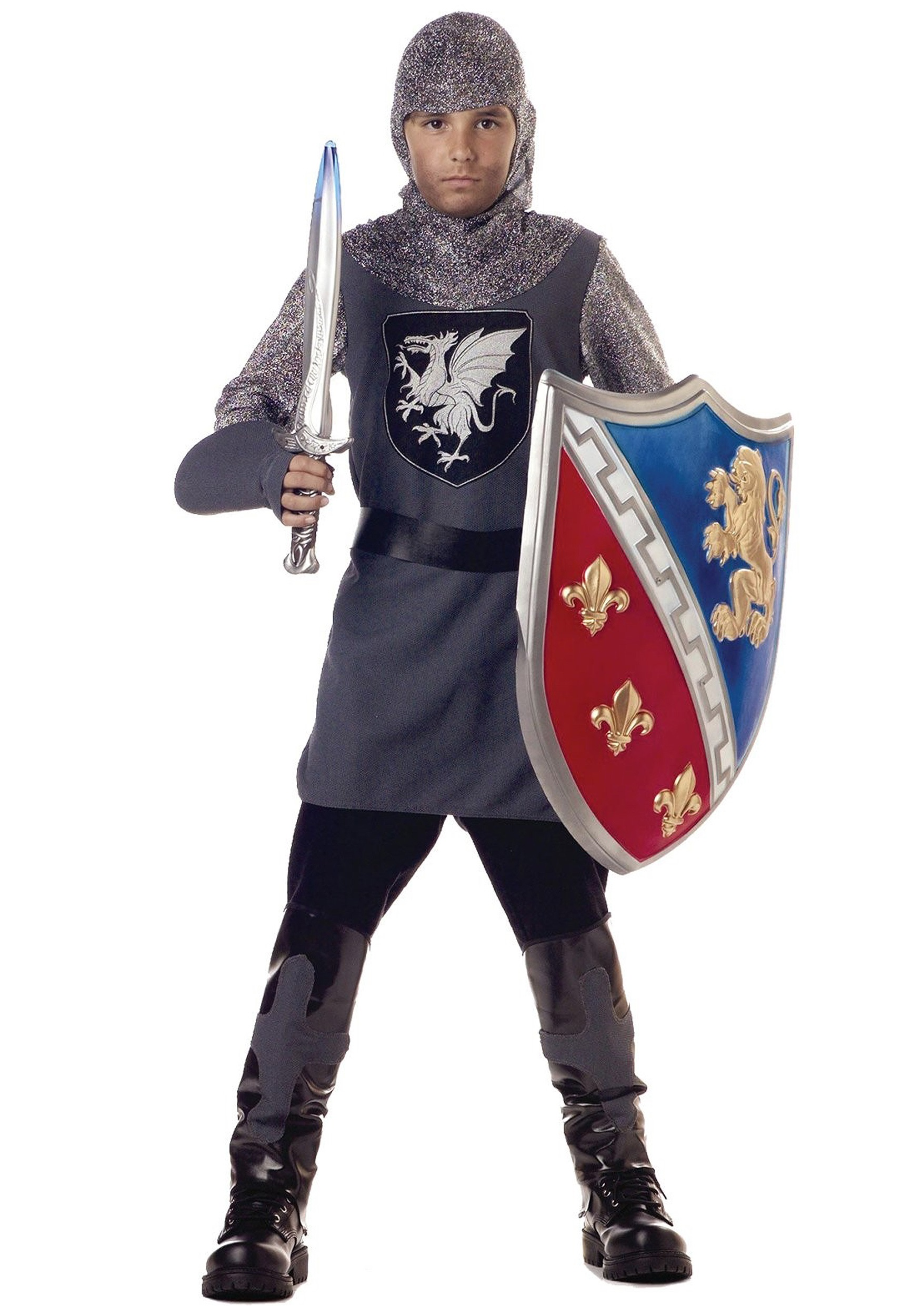 Medieval Knight Boy's Costume