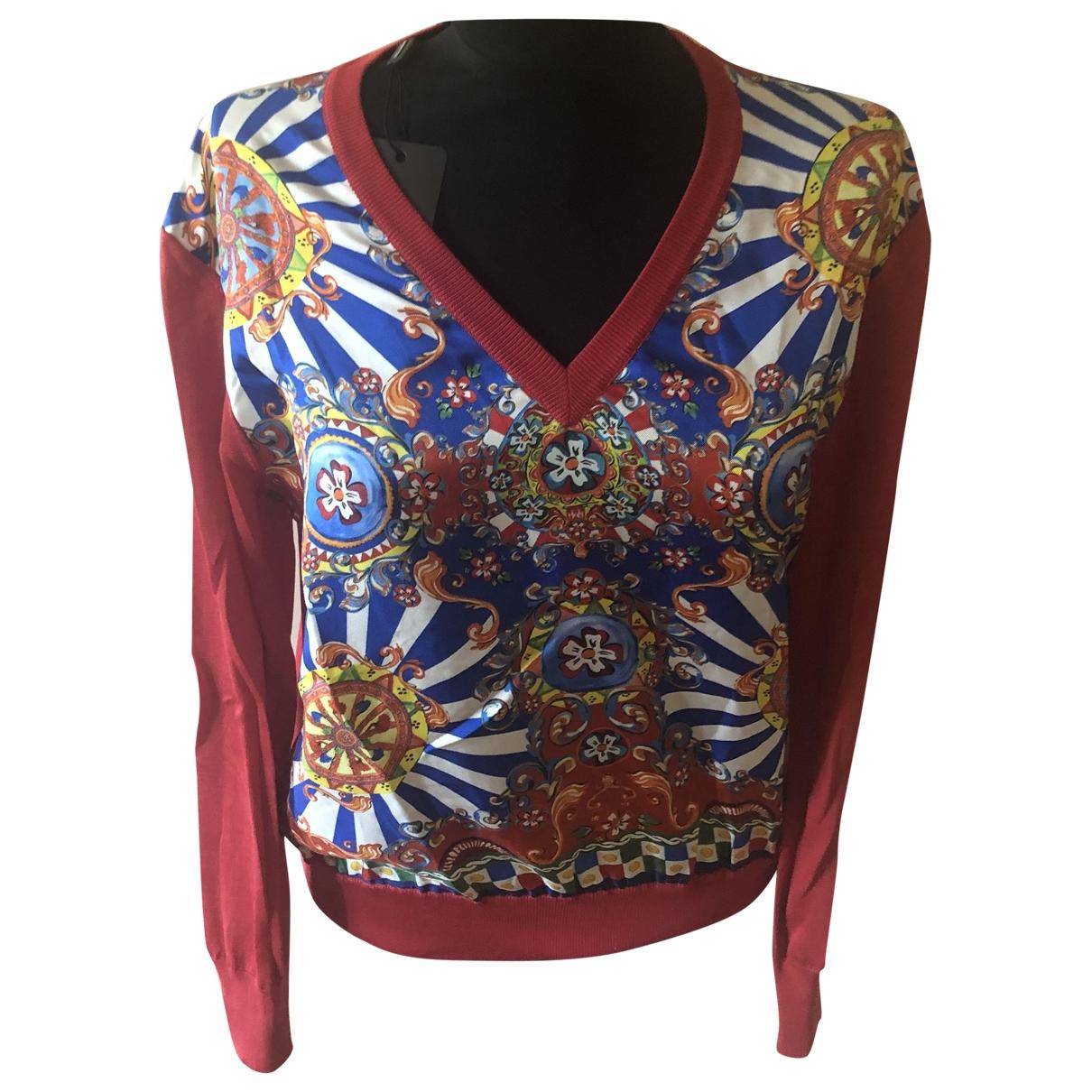 Dolce & Gabbana - Pull   pour femme en soie