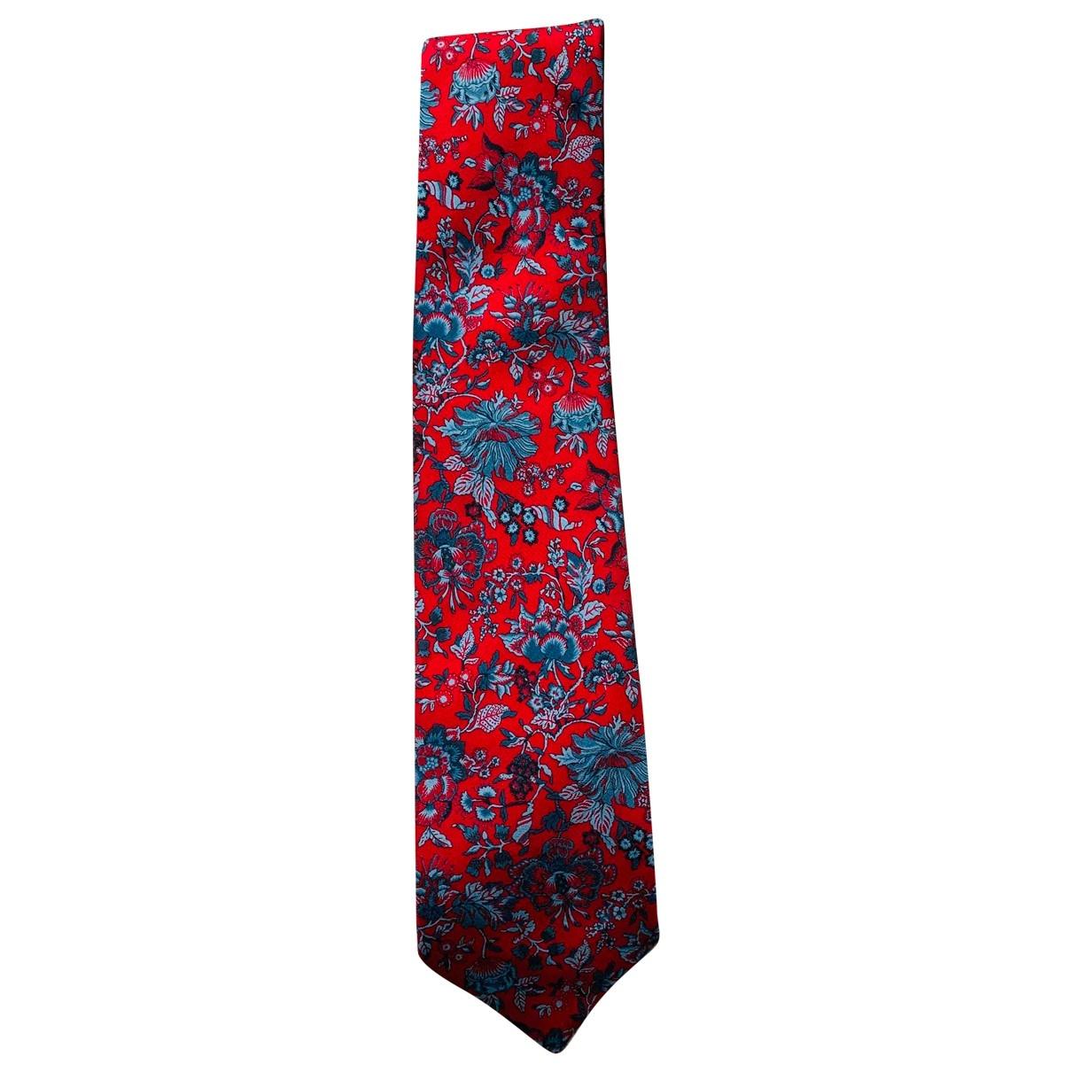 Liberty Of London \N Krawatten in  Rot Seide