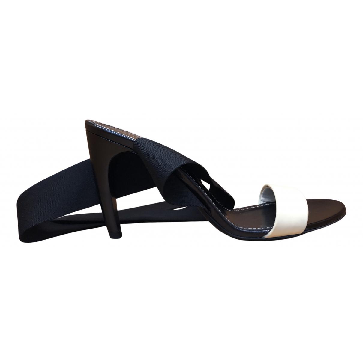 Proenza Schouler - Sandales   pour femme en cuir - multicolore