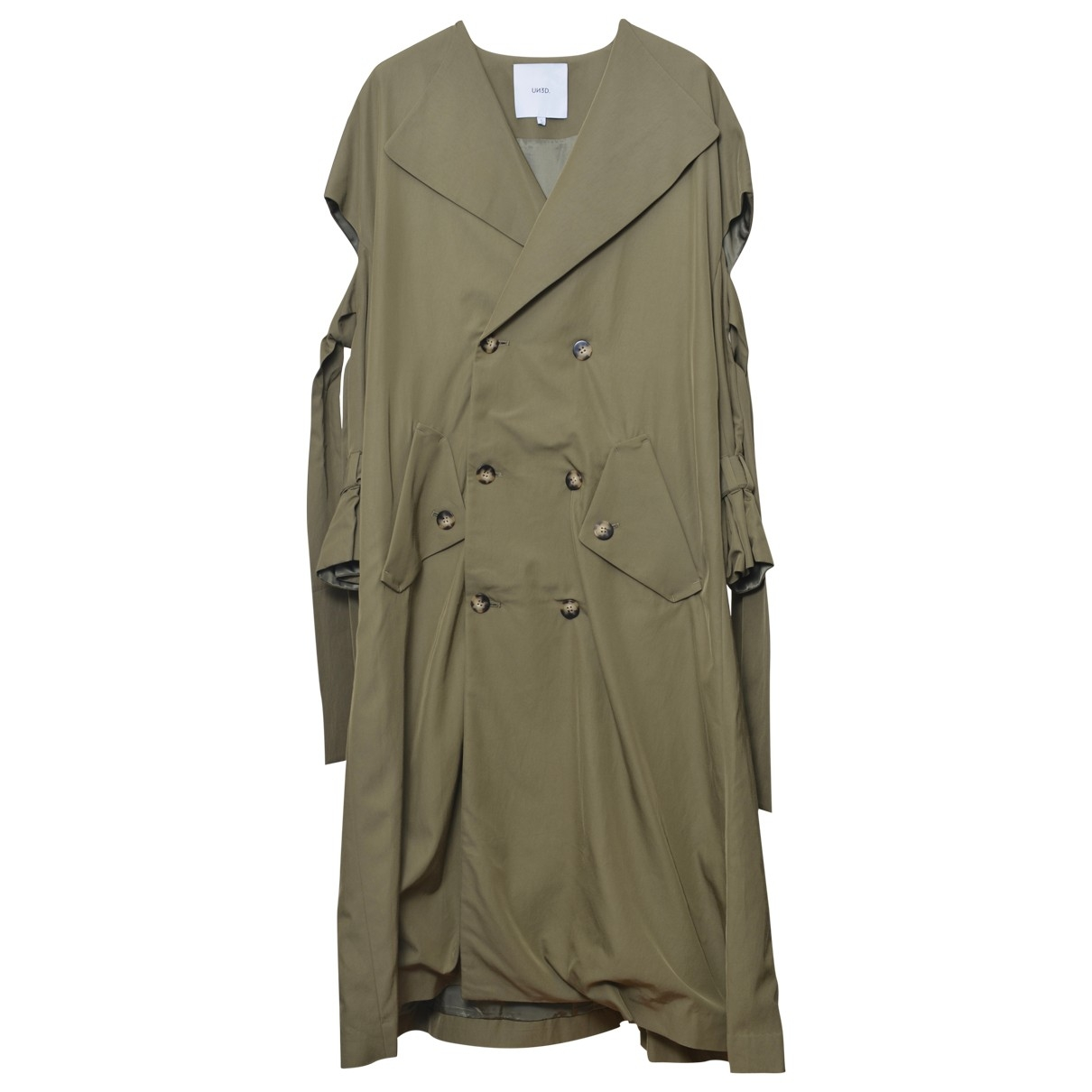 Non Signé / Unsigned \N Green coat for Women One Size 0-5