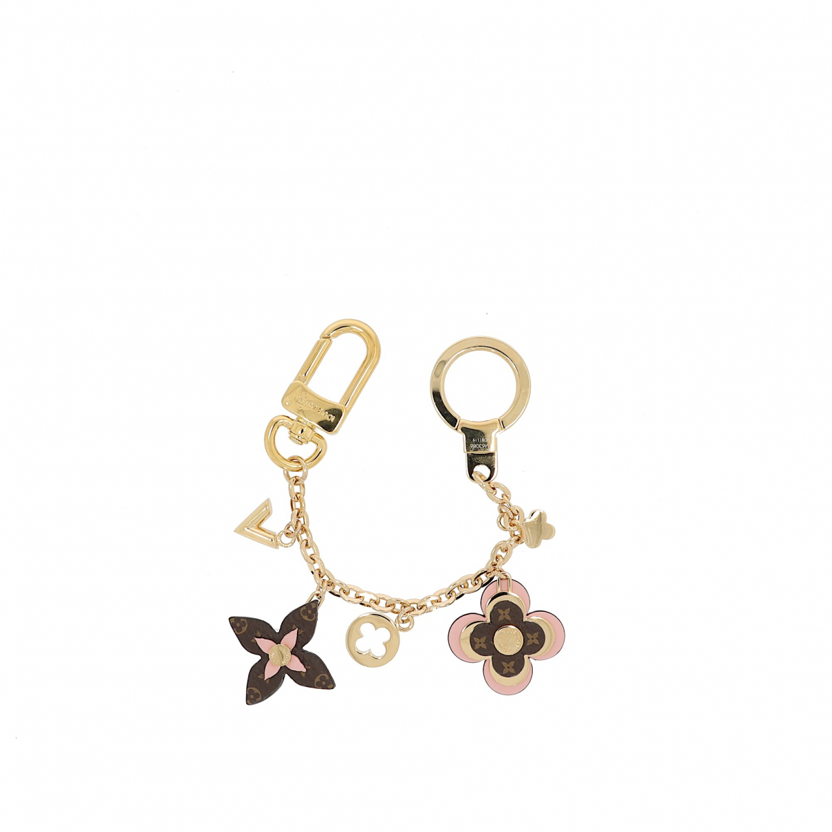 Louis Vuitton N Gold Metal Bag charms for Women N