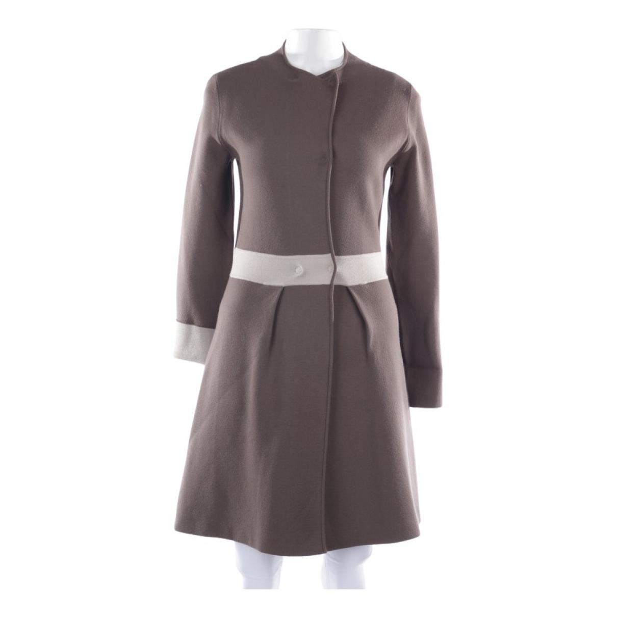Armani Collezioni \N Brown jacket for Women 36 FR