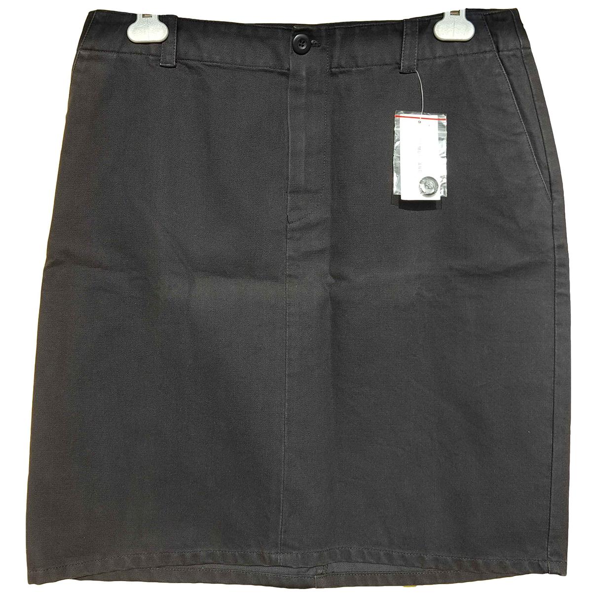 Helmut Lang - Jupe   pour femme en coton - noir
