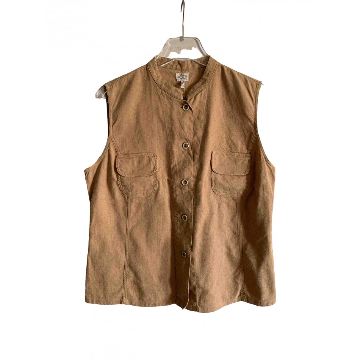Camiseta sin mangas de Lino Armani Jeans