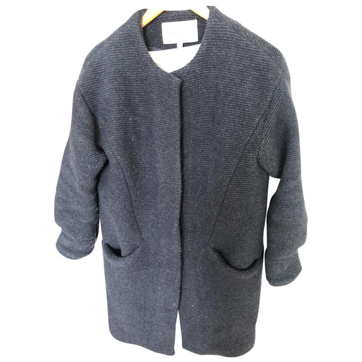 Paul & Joe Sister - Manteau   pour femme en laine - bleu