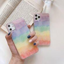 Glitter Rainbow iPhone Case