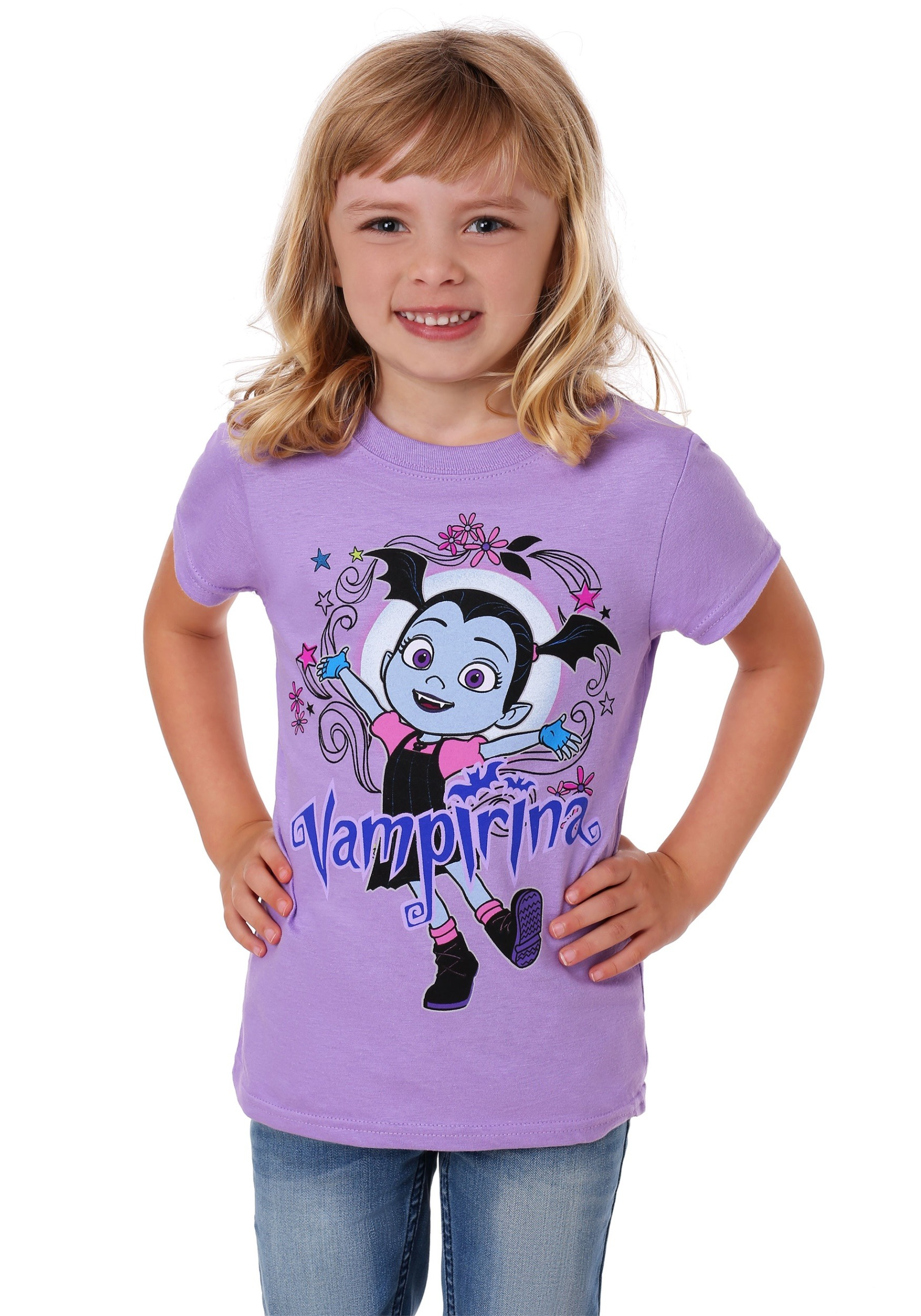 Girl's Vampirina Heart T-Shirt