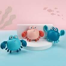 1 Stueck Kinder Krabbenformiges Badespielzeug in zufaelliger Farbe