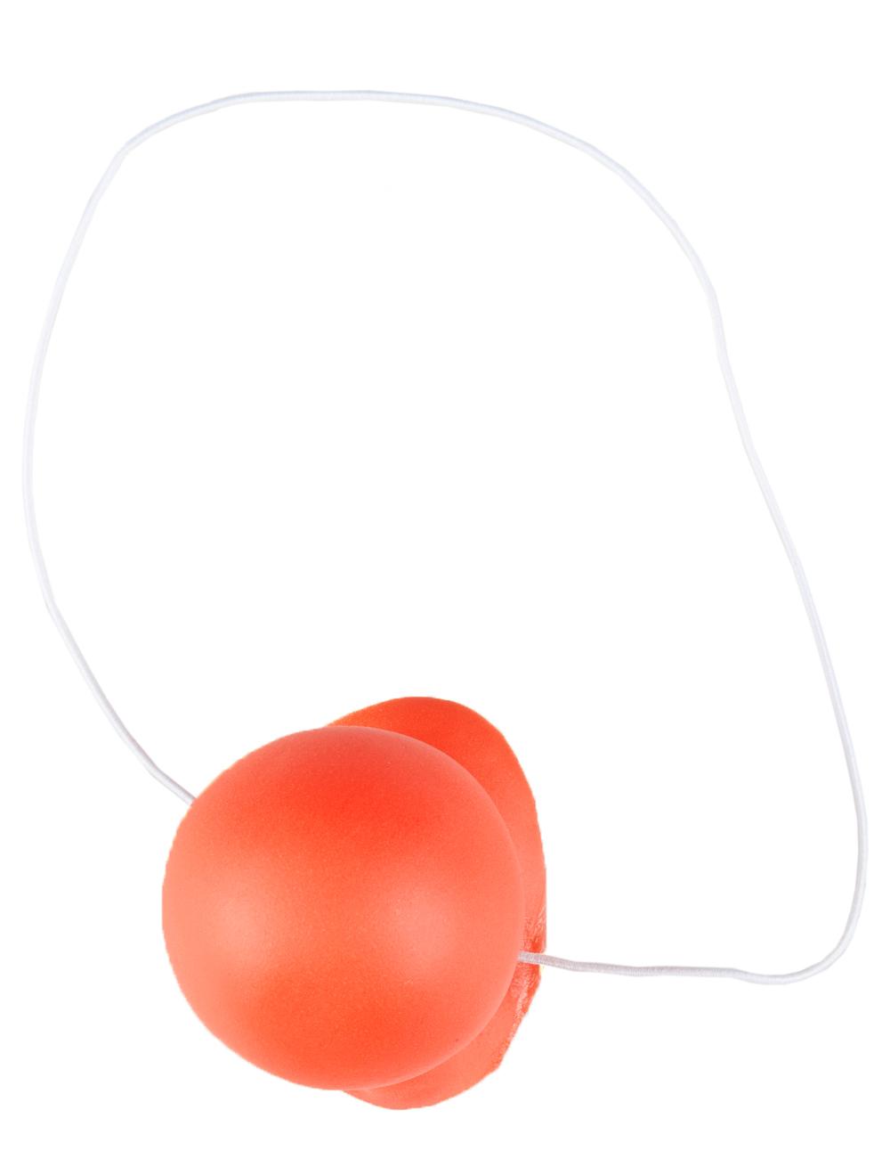 Kostuemzubehor Clownsnase rot mit Quietsch-Sound