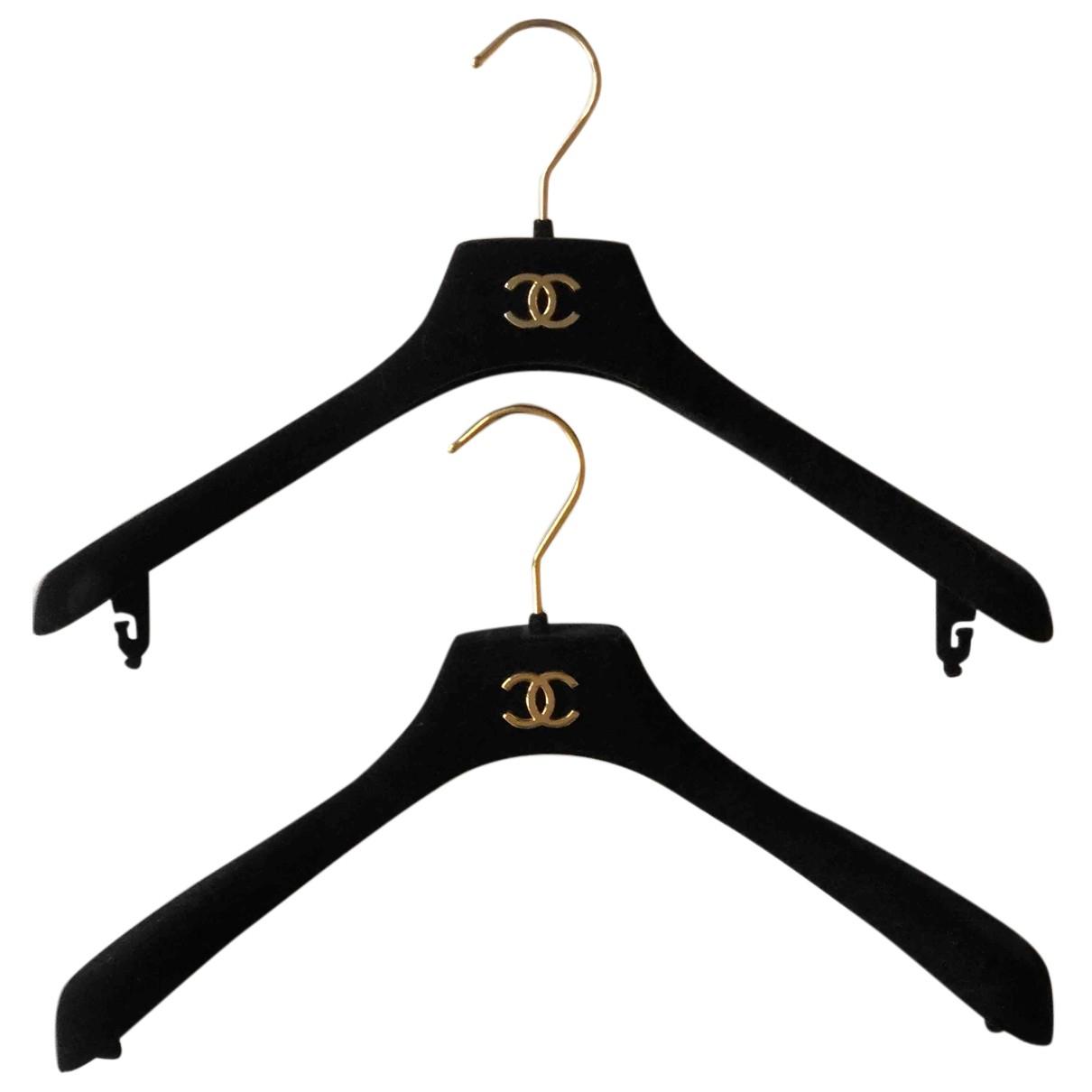 Chanel - Objets & Deco   pour lifestyle en velours - noir
