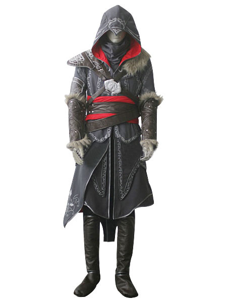 Milanoo Inspired By Assassin's Creed Revelations Desmond Miles Halloween Cosplay Costume Halloween