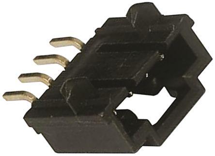 Molex , SL, 70634, 6 Way, 1 Row, Right Angle PCB Header (5)
