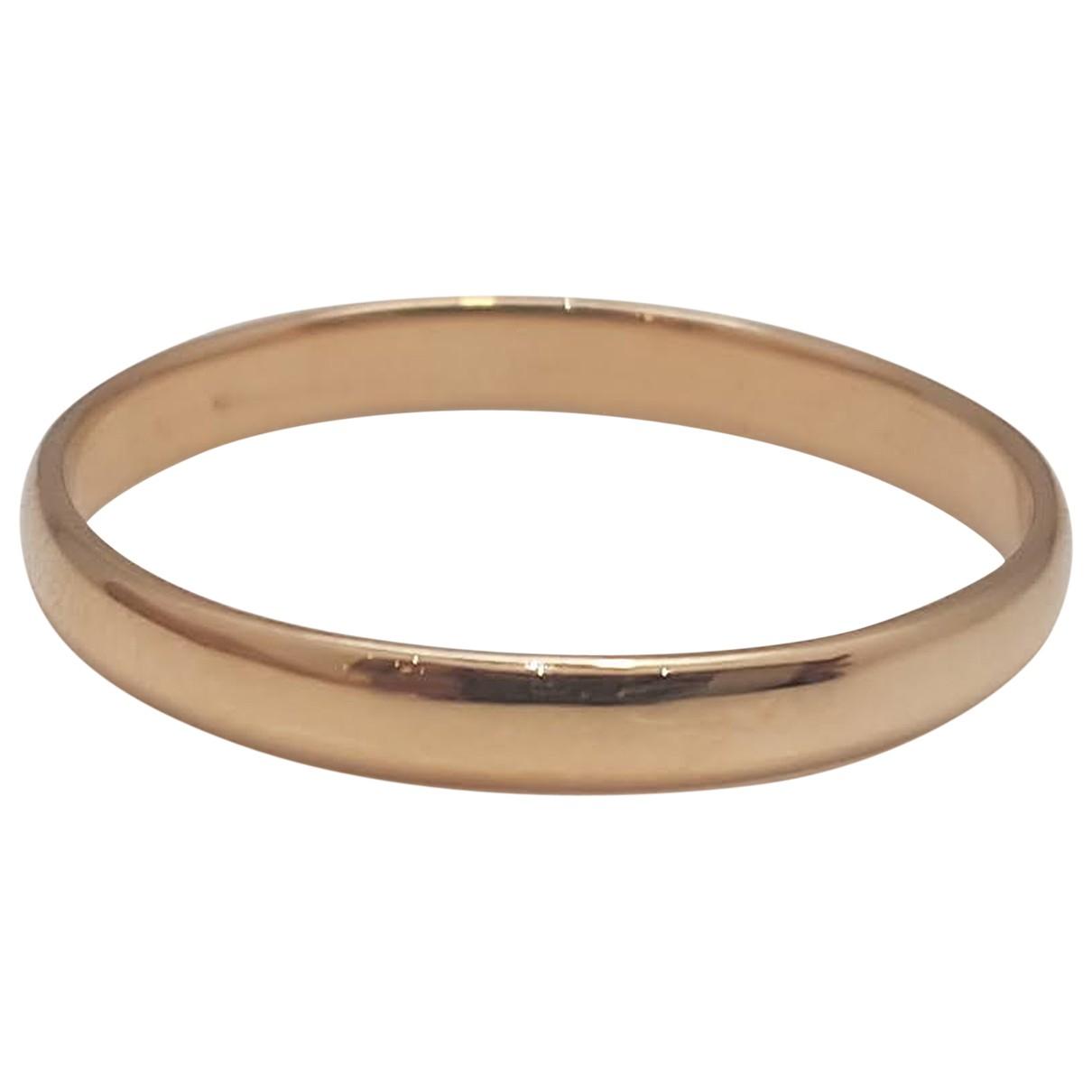 - Bague Alliance pour femme en or rose - rose