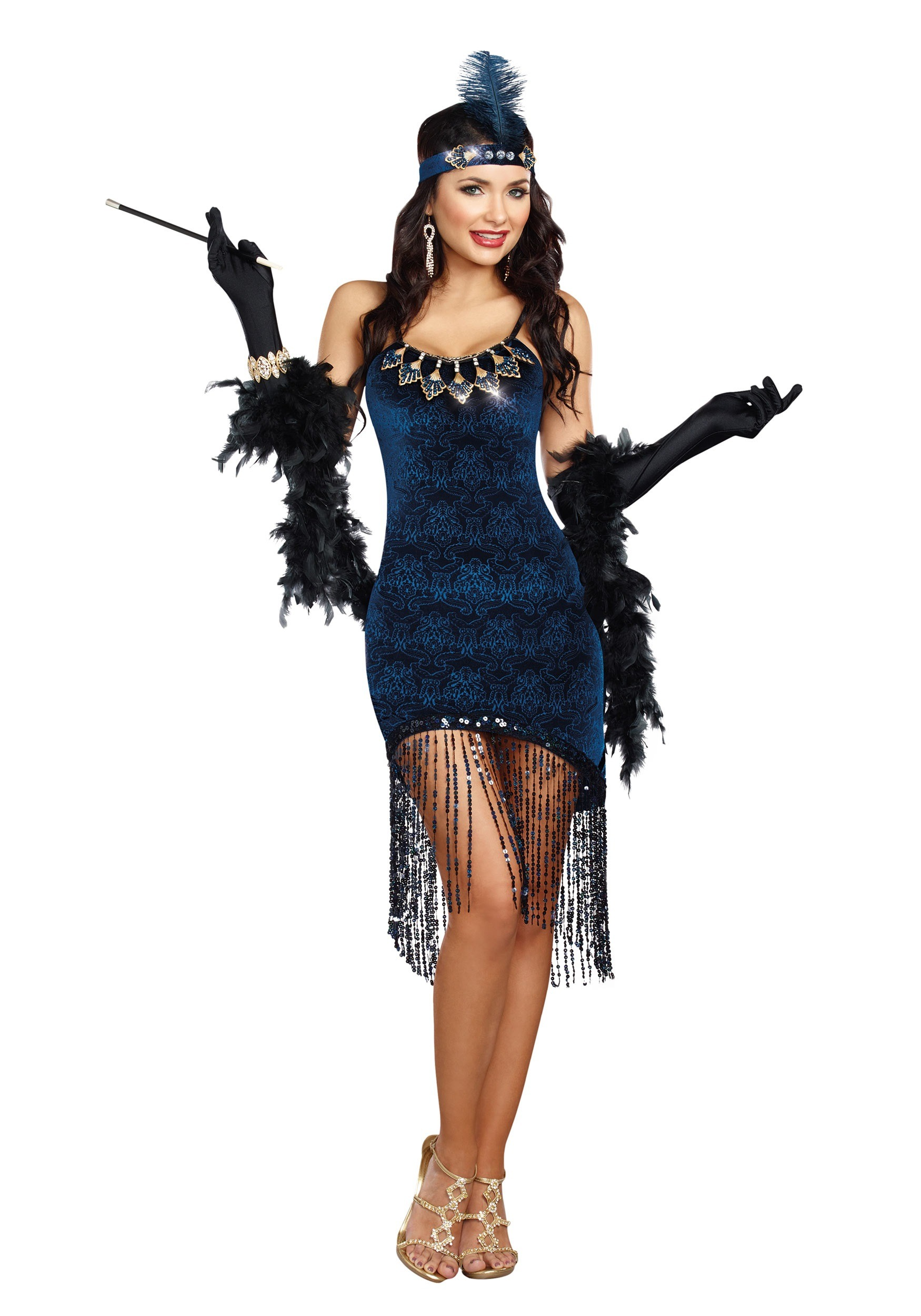 Womens Downtown Doll Costume | Roaring 20s Womens Costume