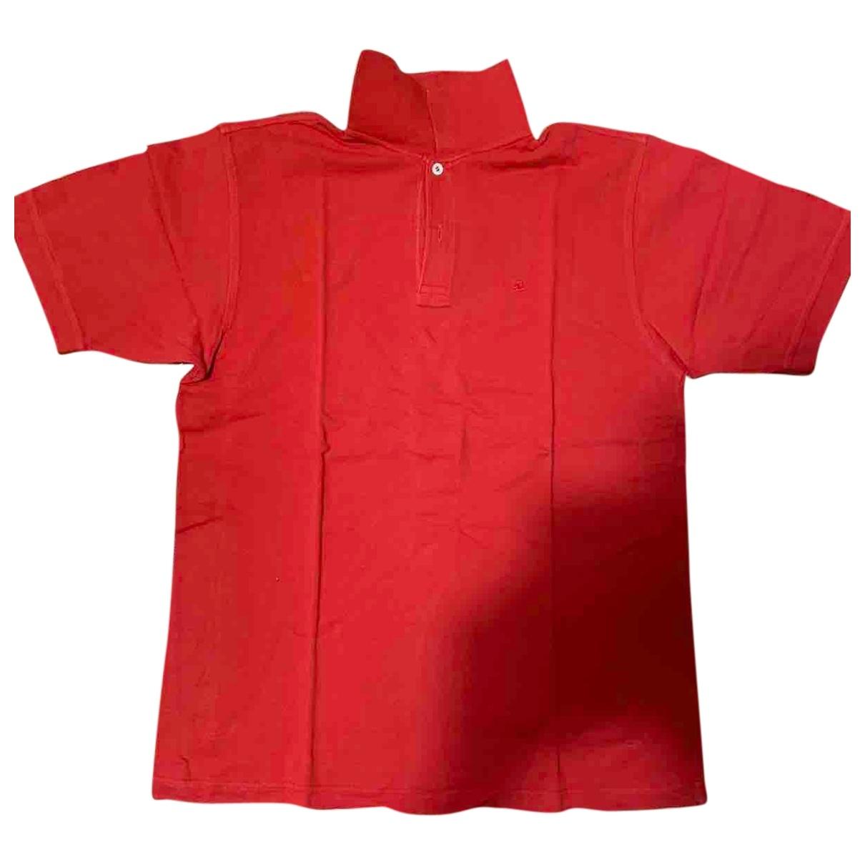 Invicta - Polos   pour homme en coton - rouge
