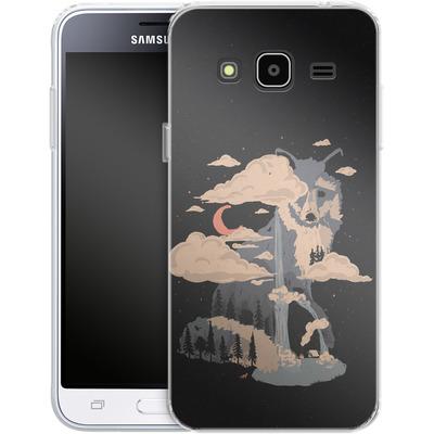 Samsung Galaxy J3 (2016) Silikon Handyhuelle - At the foot of fox mountain von ND Tank