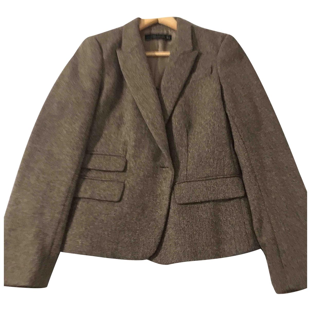Zara \N Brown Wool jacket for Women M International