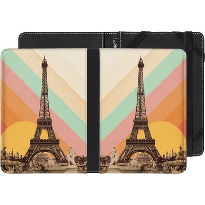 Kobo Glo HD eBook Reader Huelle - Eiffel Tower Rainbow von Florent Bodart