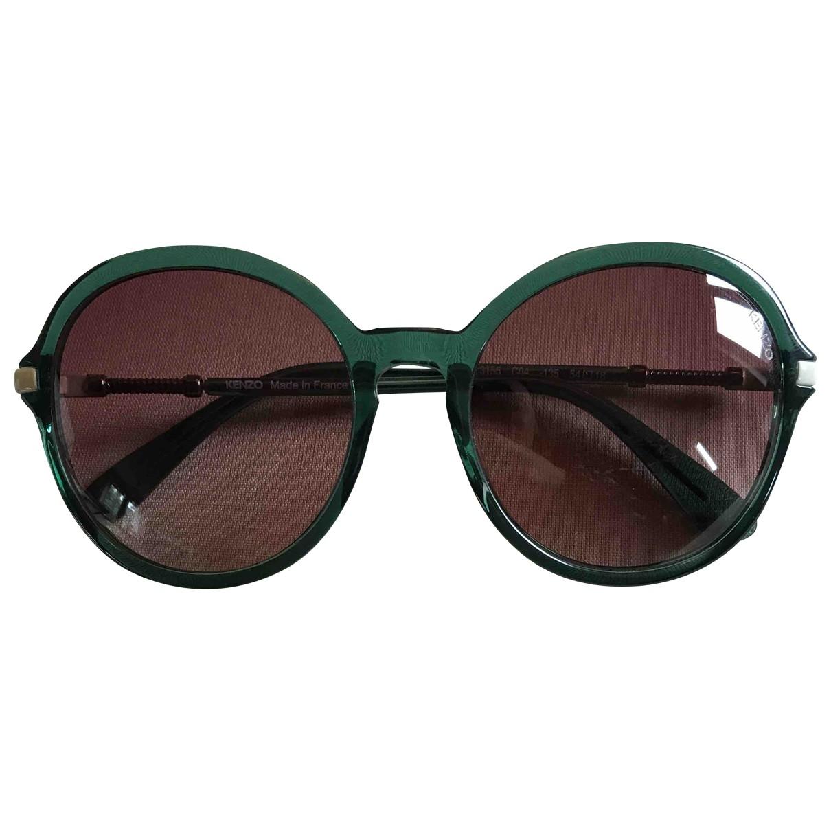 Kenzo \N Sonnenbrillen in  Gruen Kunststoff