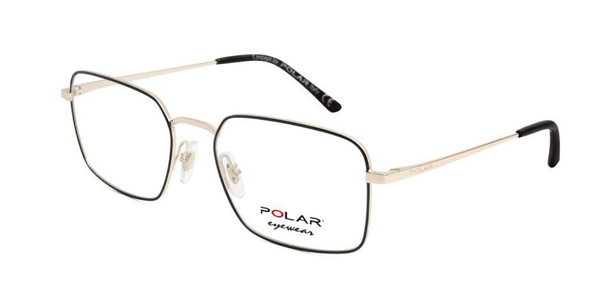 Polar PL 887 78 Men's Glasses Gold Size 53 - Free Lenses - HSA/FSA Insurance - Blue Light Block Available