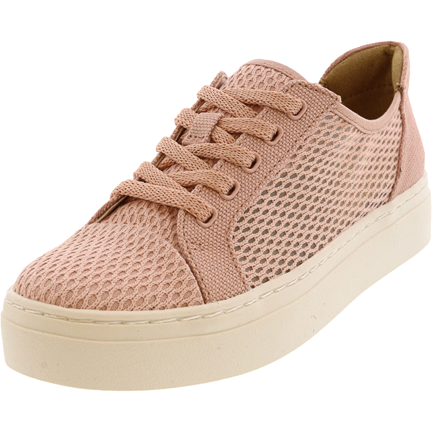 Naturalizer Women's Cairo 4 Rose Pink Ankle-High Fabric Sneaker - 4.5M