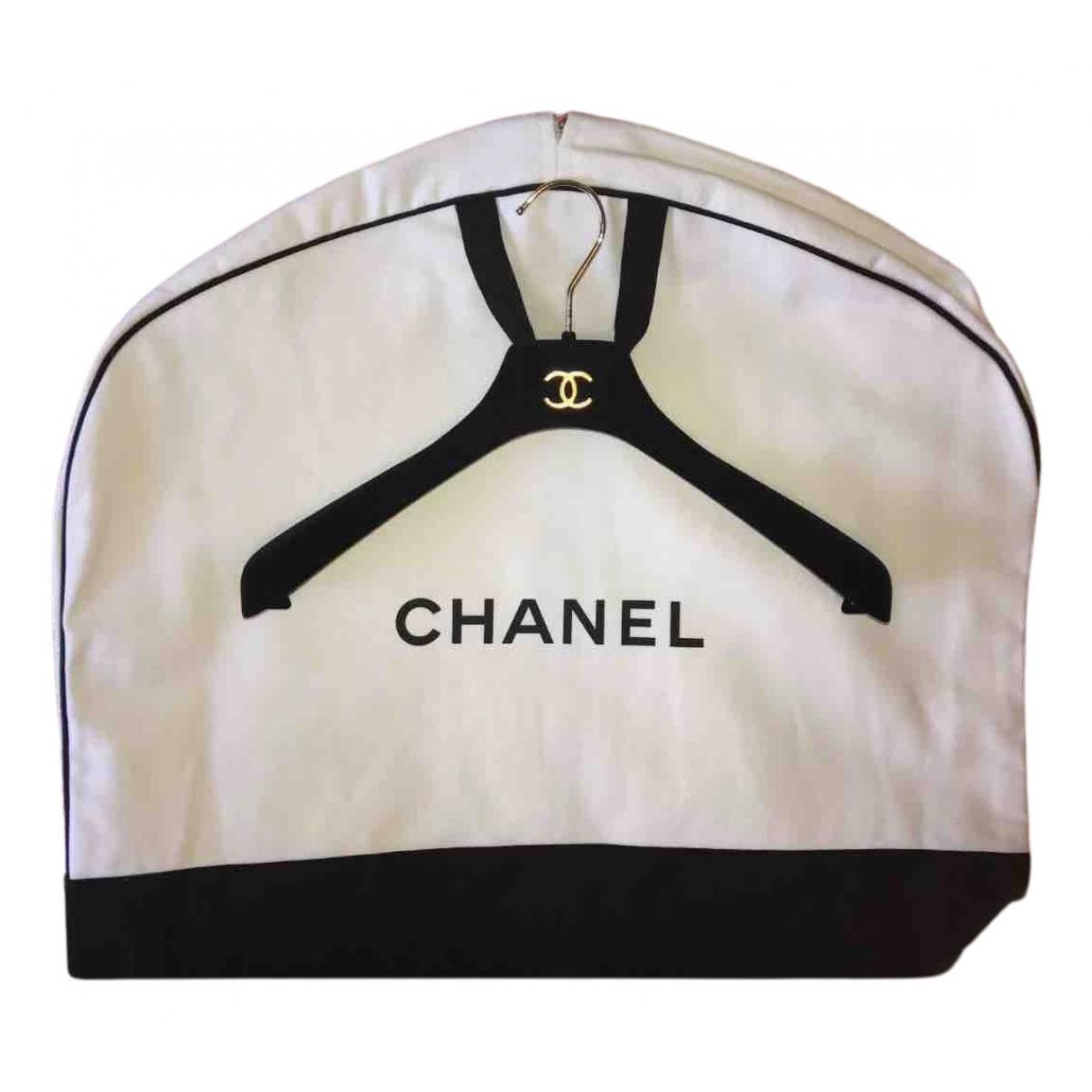 Chanel \N Reisetasche in  Schwarz Baumwolle
