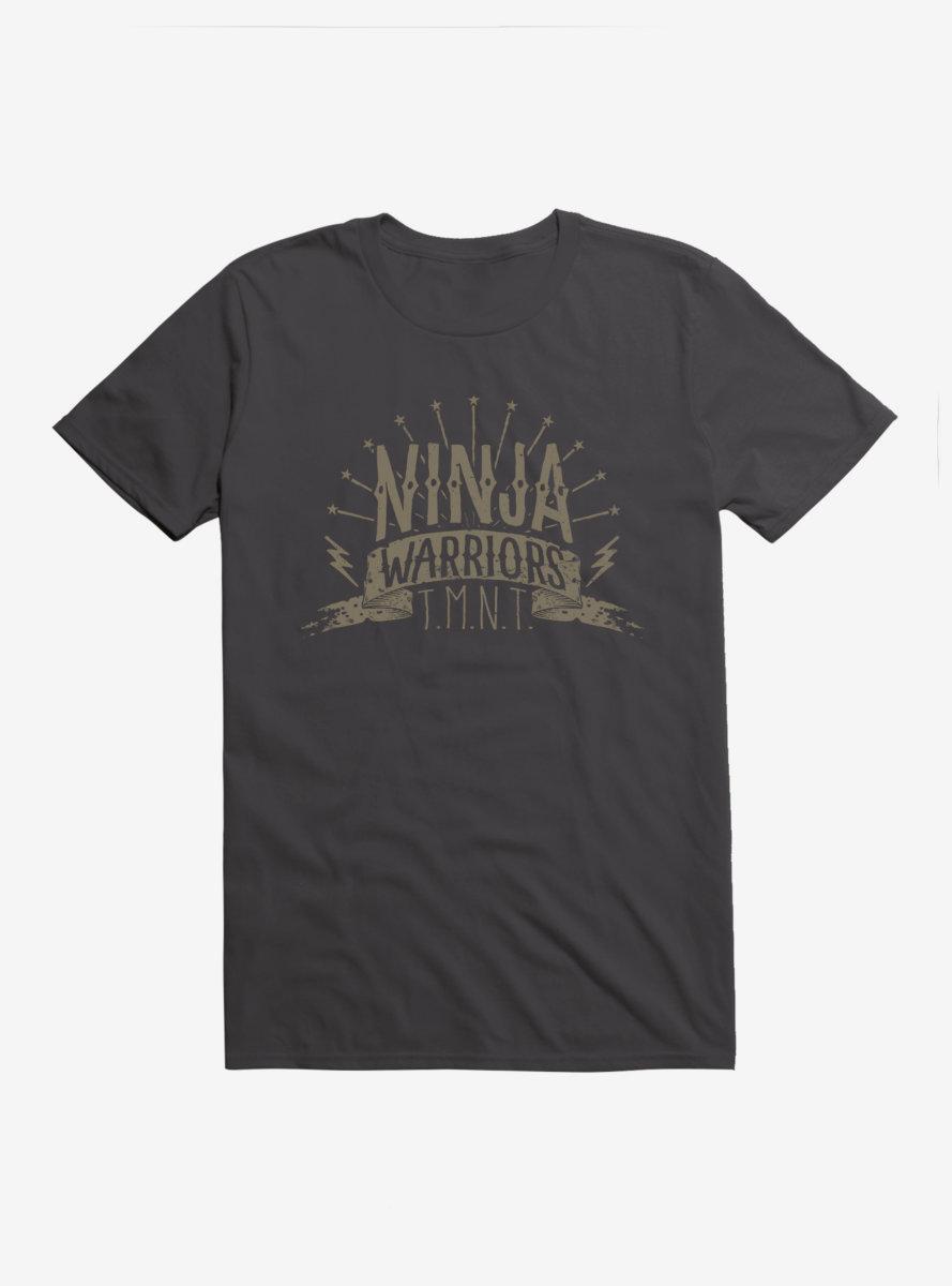 Teenage Mutant Ninja Turtles Warriors Script T-Shirt