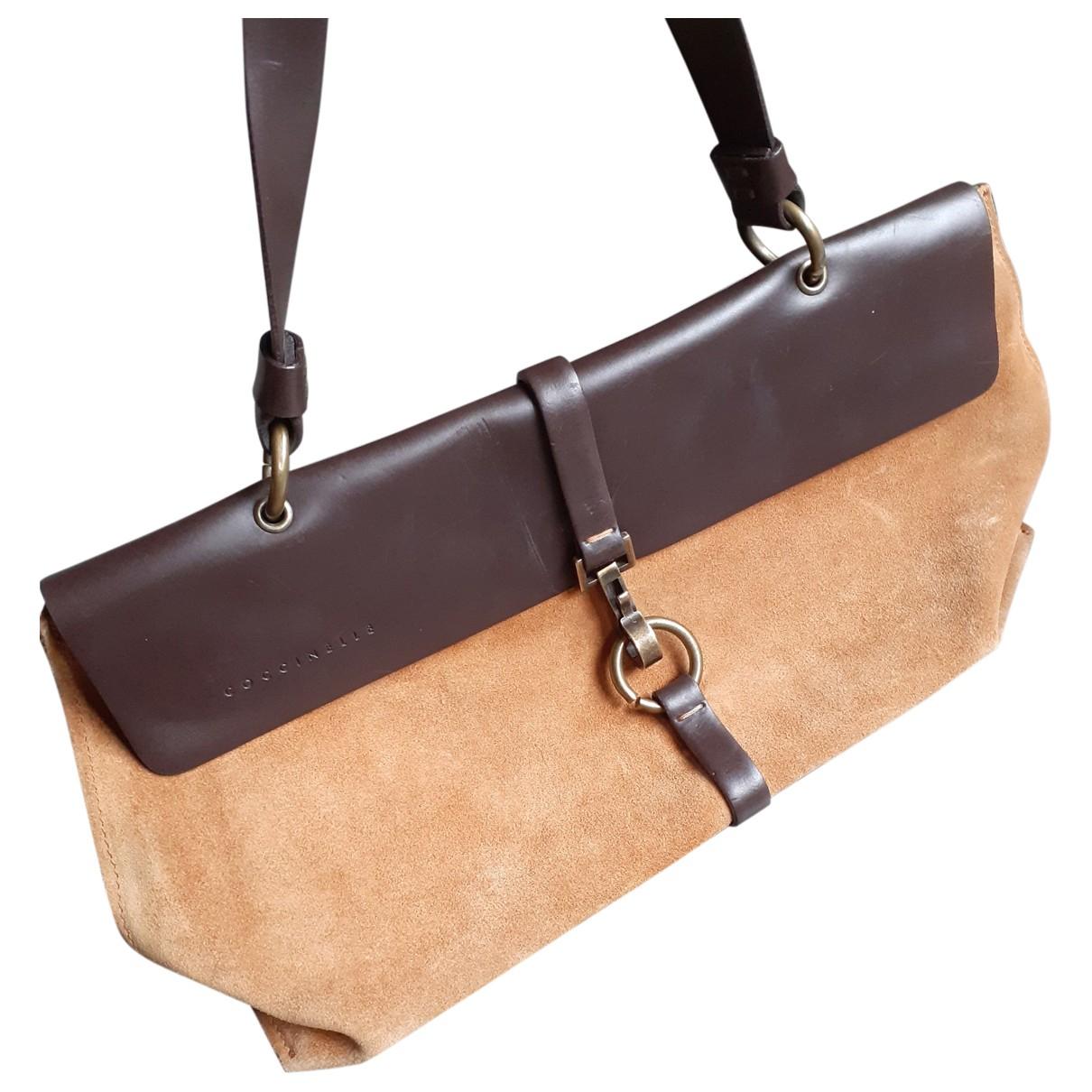 Coccinelle \N Brown Suede handbag for Women \N