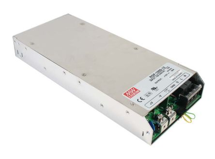 Mean Well , 999W Embedded Switch Mode Power Supply SMPS, 27V dc, Enclosed