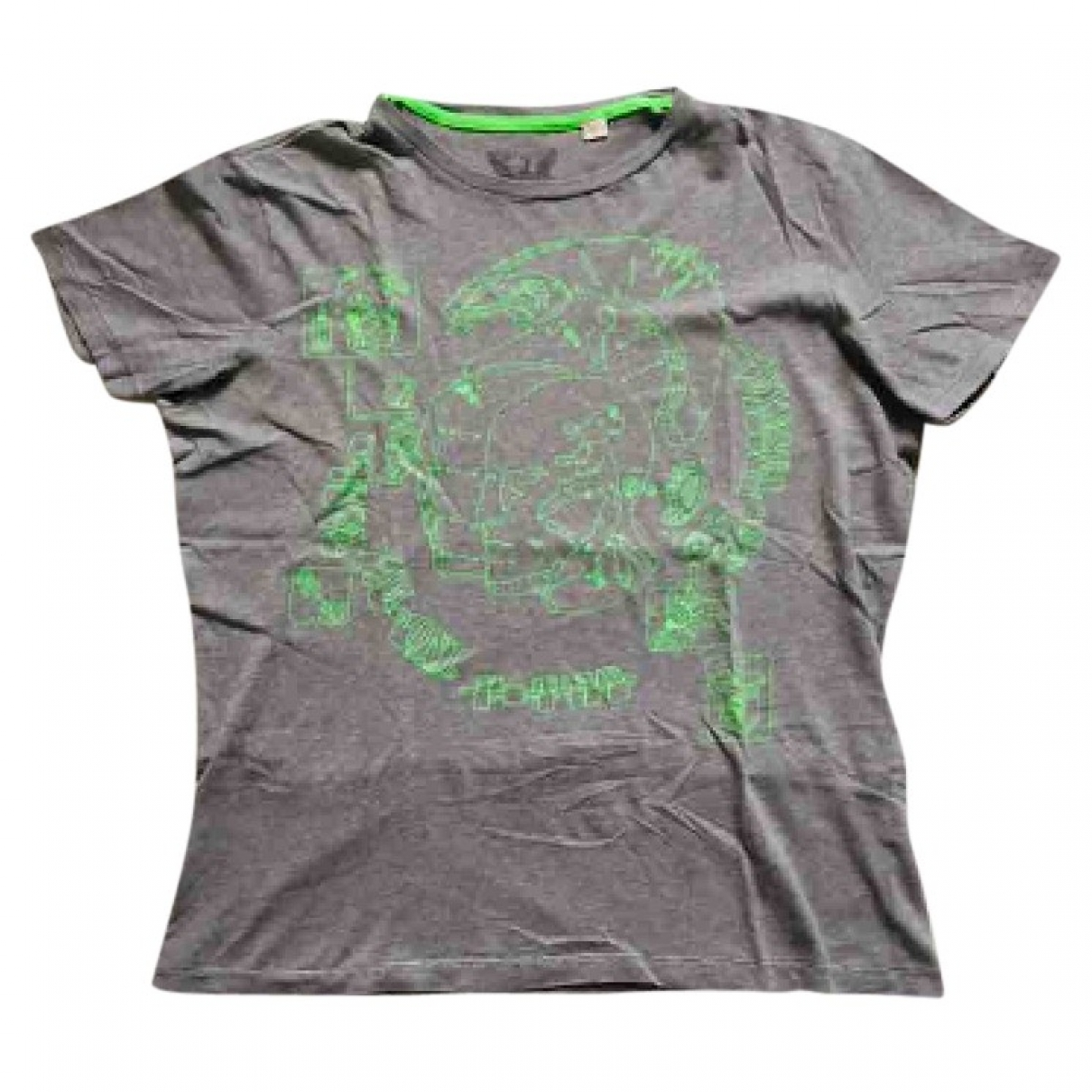 Diesel \N Grey Cotton T-shirts for Men L International