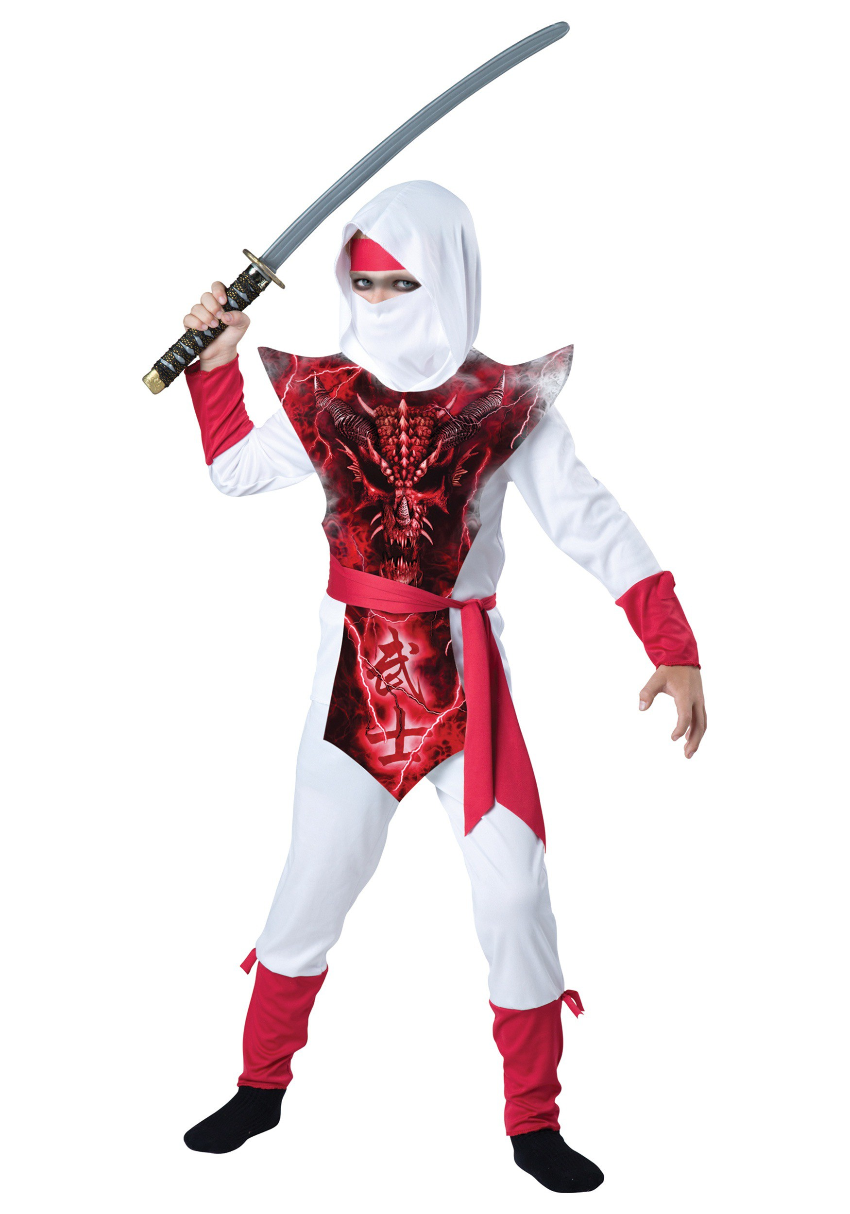 Ghost Ninja Boy's Costume