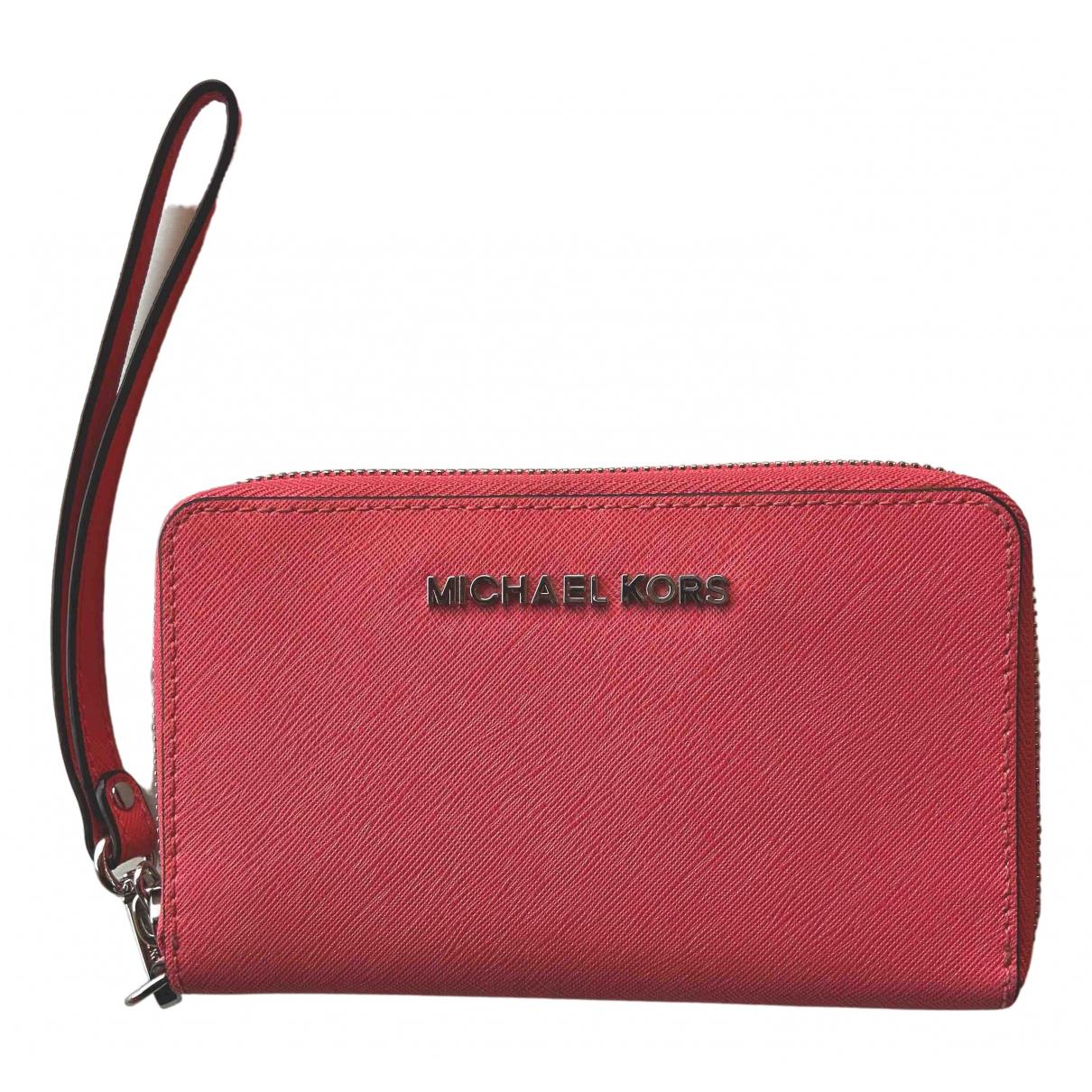 Michael Kors - Portefeuille   pour femme - rose