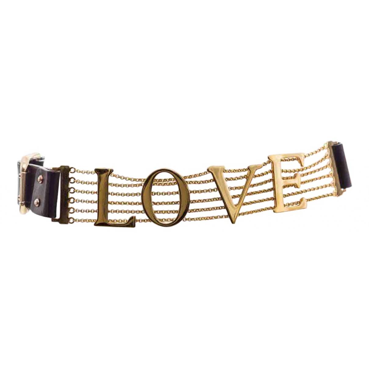 Cinturon de Cuero Dolce & Gabbana