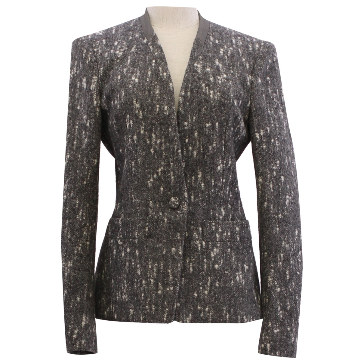 Balenciaga - Veste   pour femme - gris