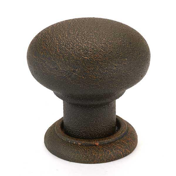 125.88.051 Bordeaux Knob, Rust, 32mm, 1 piece
