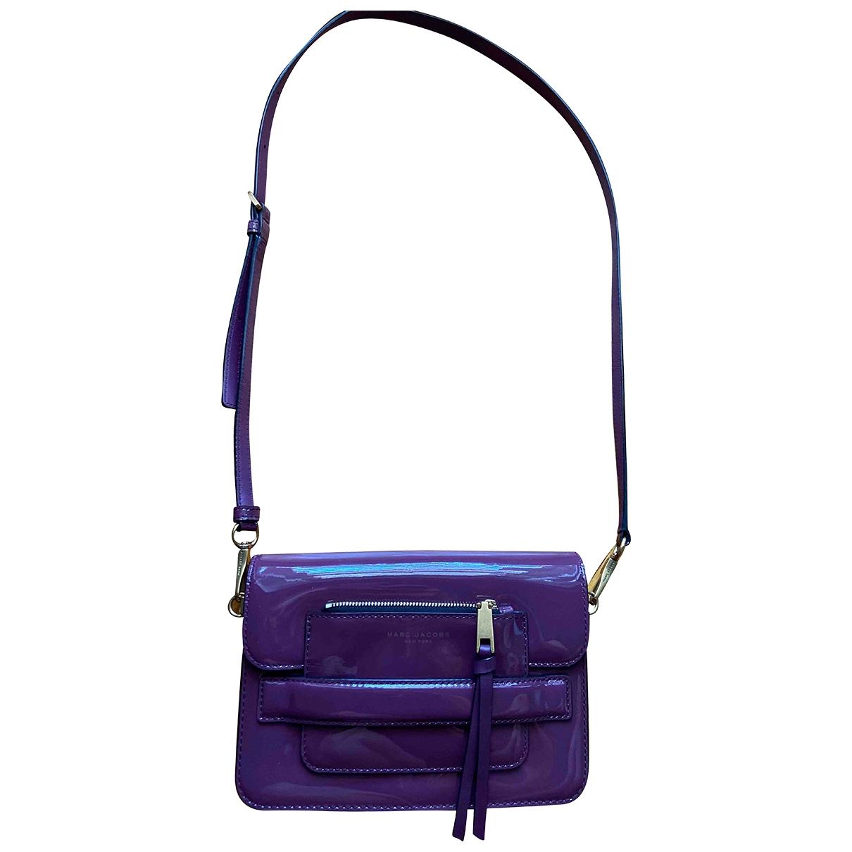 Marc Jacobs \N Handtasche in  Lila Lackleder