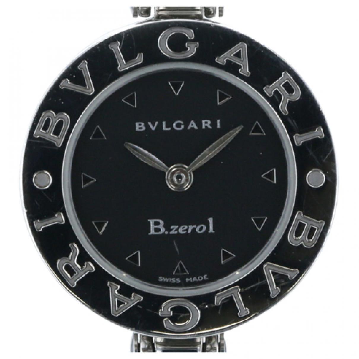 Bvlgari - Montre B.Zero1 pour femme en argent - noir