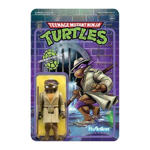Teenage Mutant Ninja Turtles Undercover Donatello 3 3/4-Inch ReAction Figure