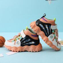 Zapatillas deportivas de niños de color combinado