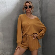 Outfit de dos piezas Cordon Liso Casual