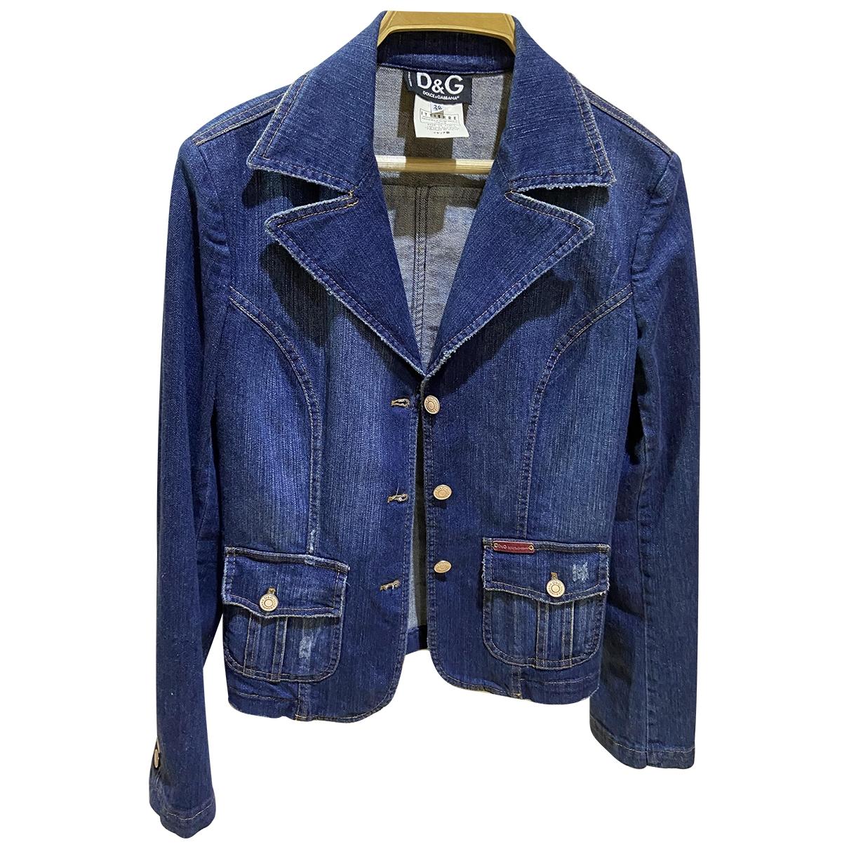 D&g \N Jacke in  Blau Denim - Jeans