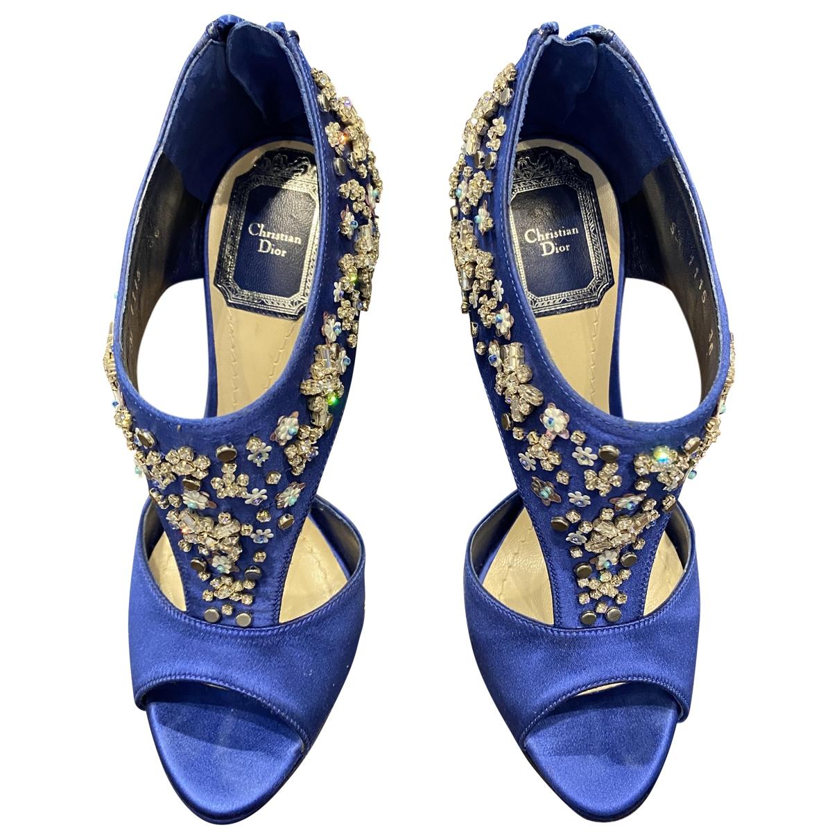 Sandalias de Lona Christian Dior