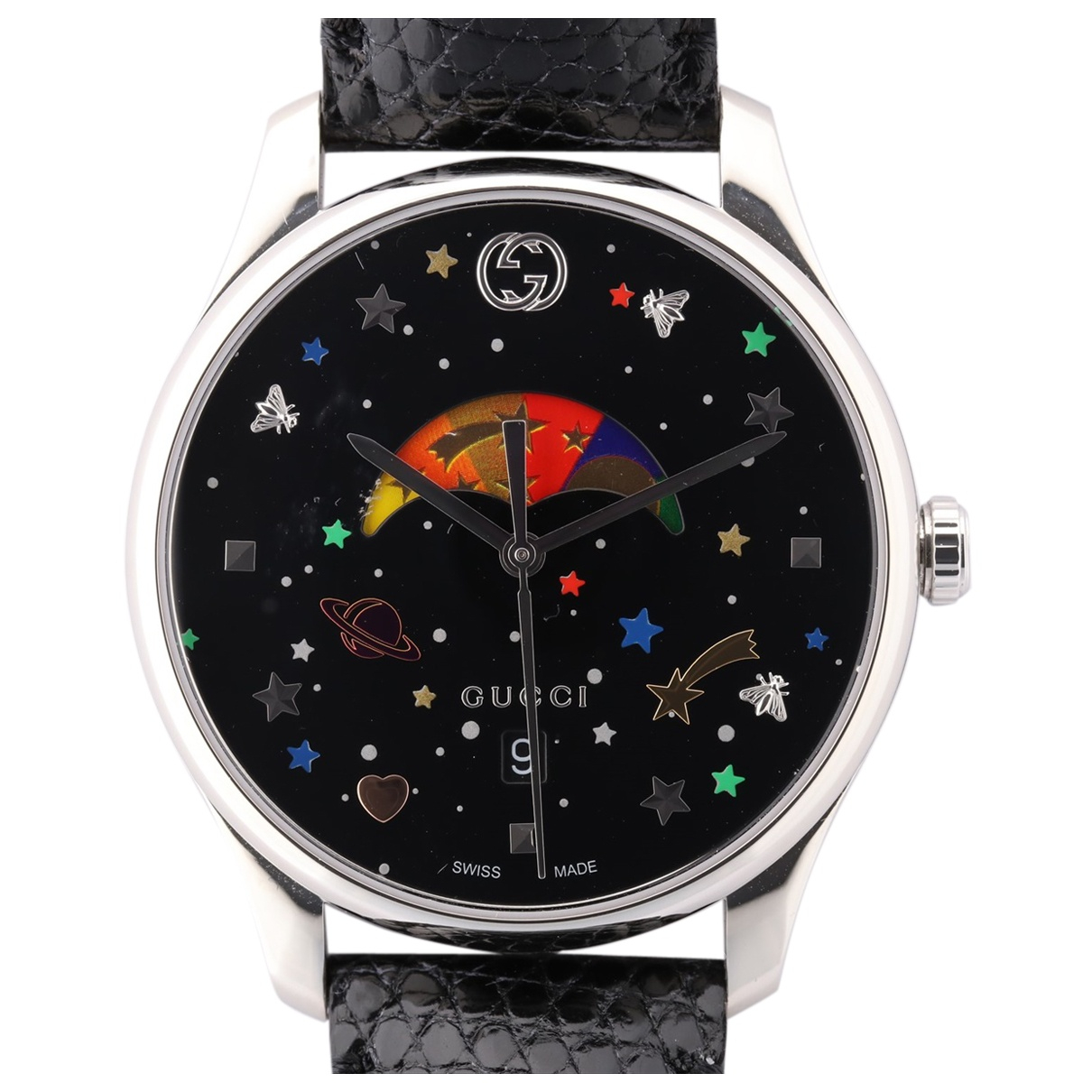 Gucci G-Timeless Uhr in Stahl