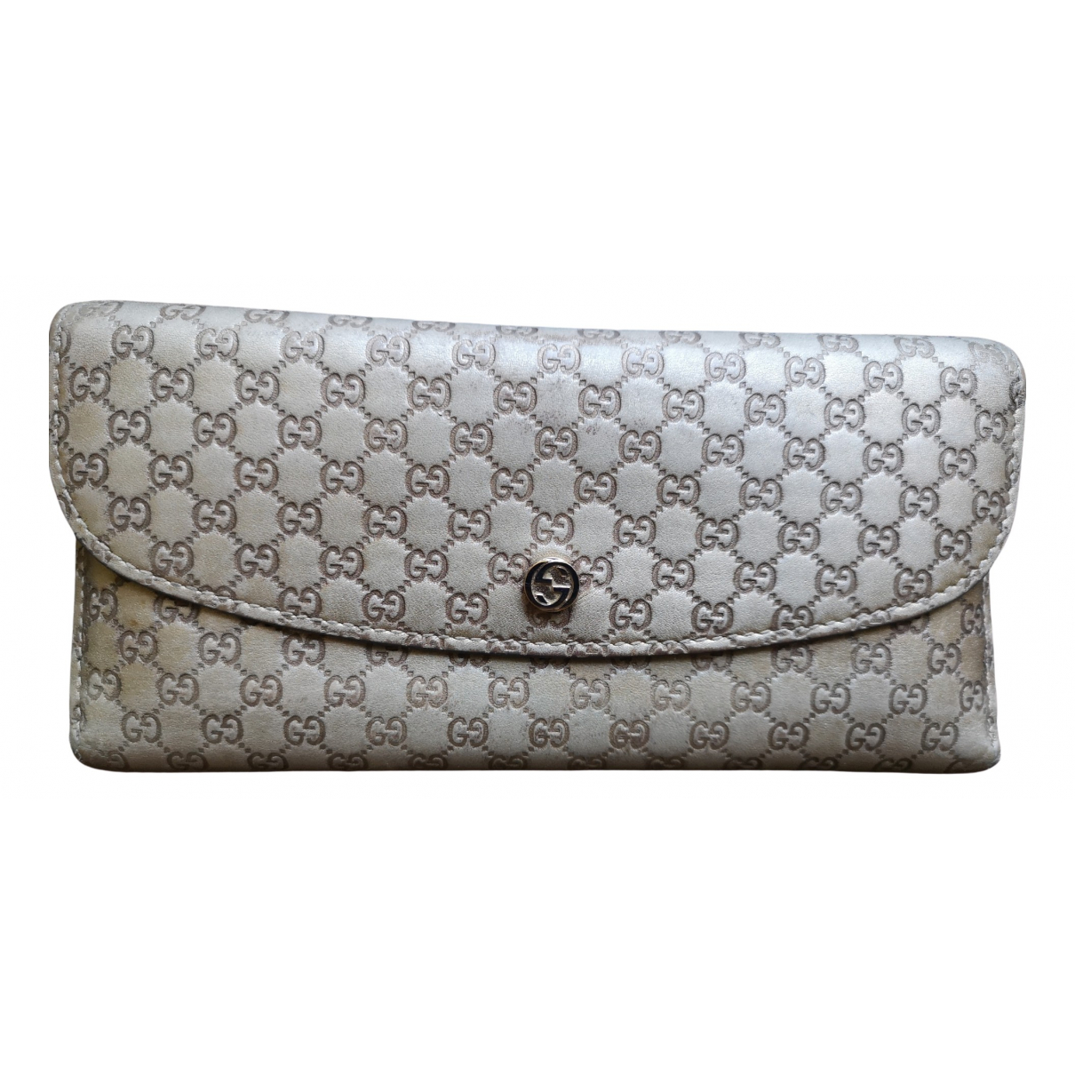 Gucci \N Gold Leather wallet for Women \N